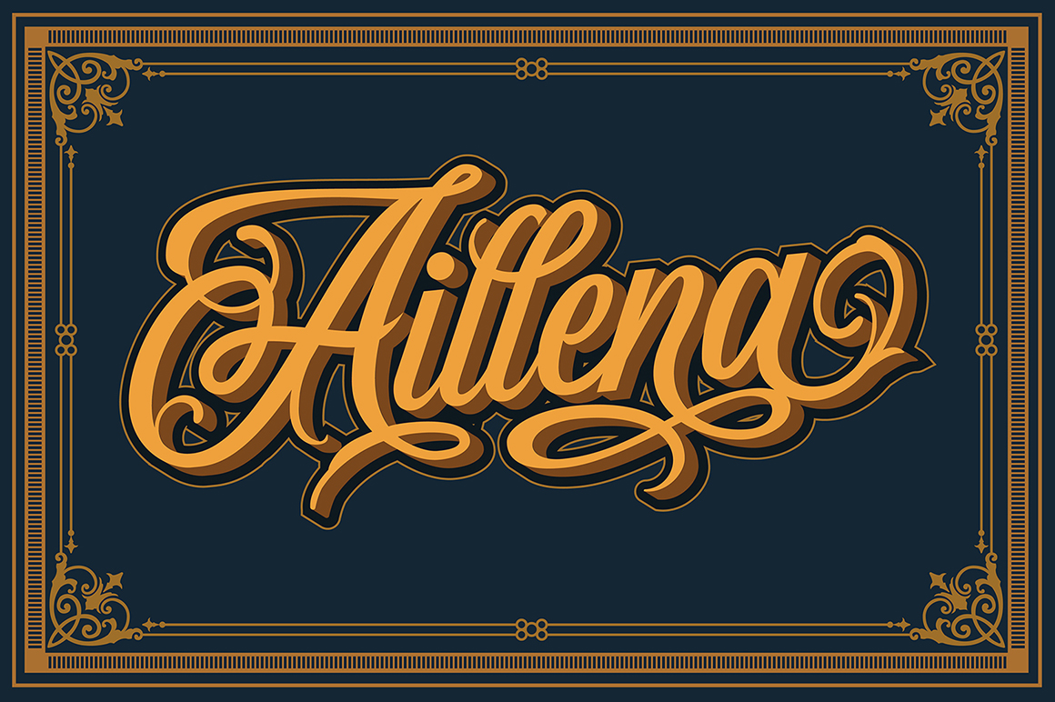 Wildcats Typeface (40% off) example image 4