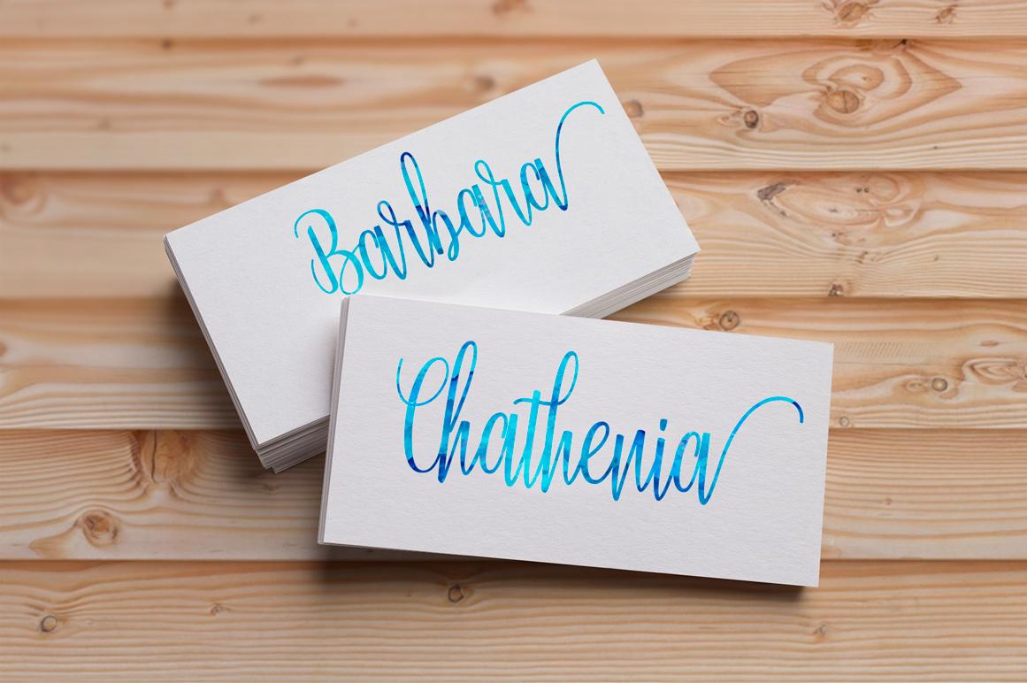 Calligraphy Font Bundles example image 26