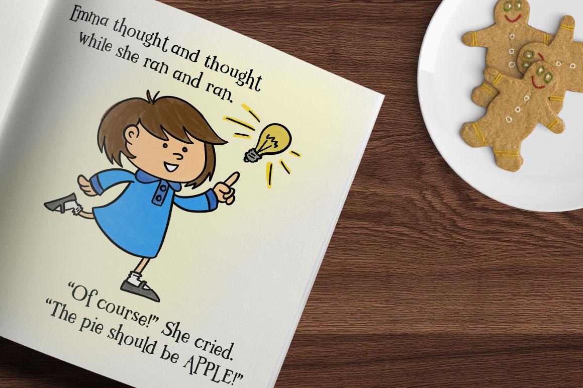 Kidlit: children's book idea mockup