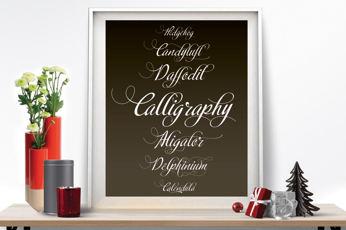 Calligraphy script example image 3