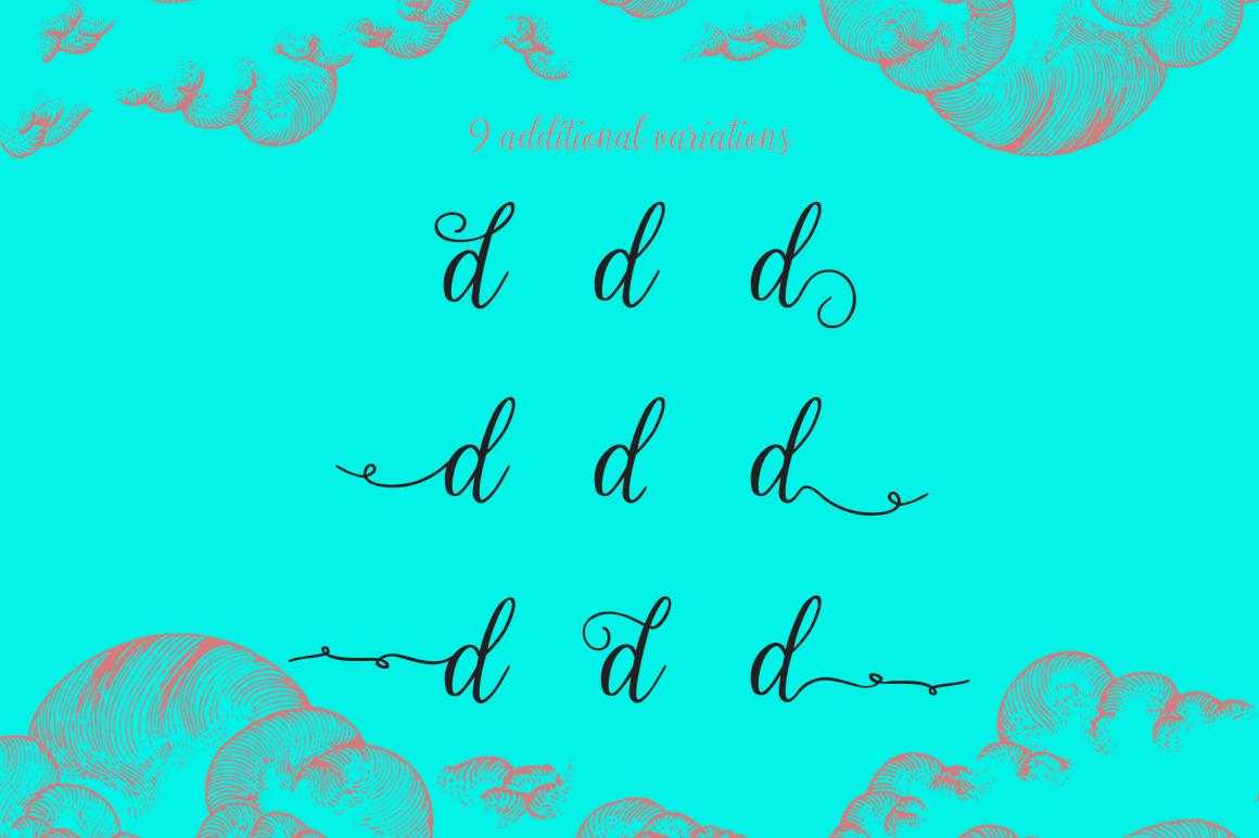 Calista Script Font example image 5