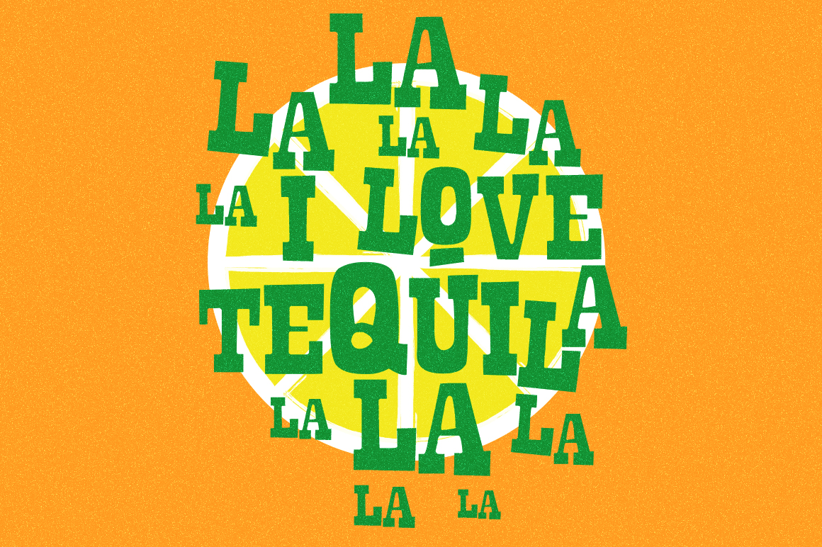La Tequila Typeface example image 4