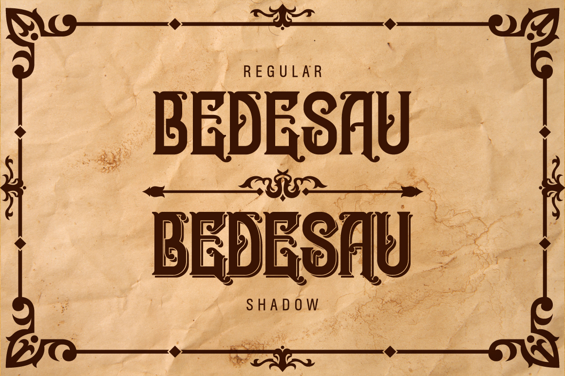 Bedesau Typeface example image 2