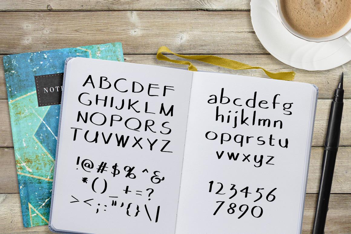 Font No.13, No.14 and No.15 example image 8