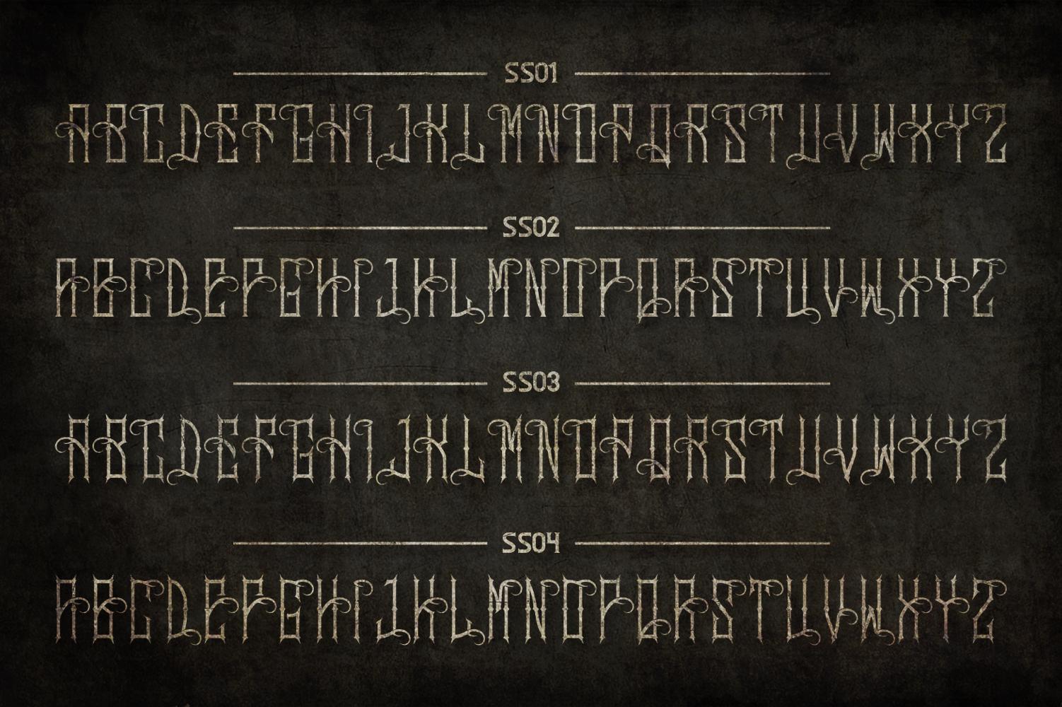 Sadis Typeface + Extras example image 7