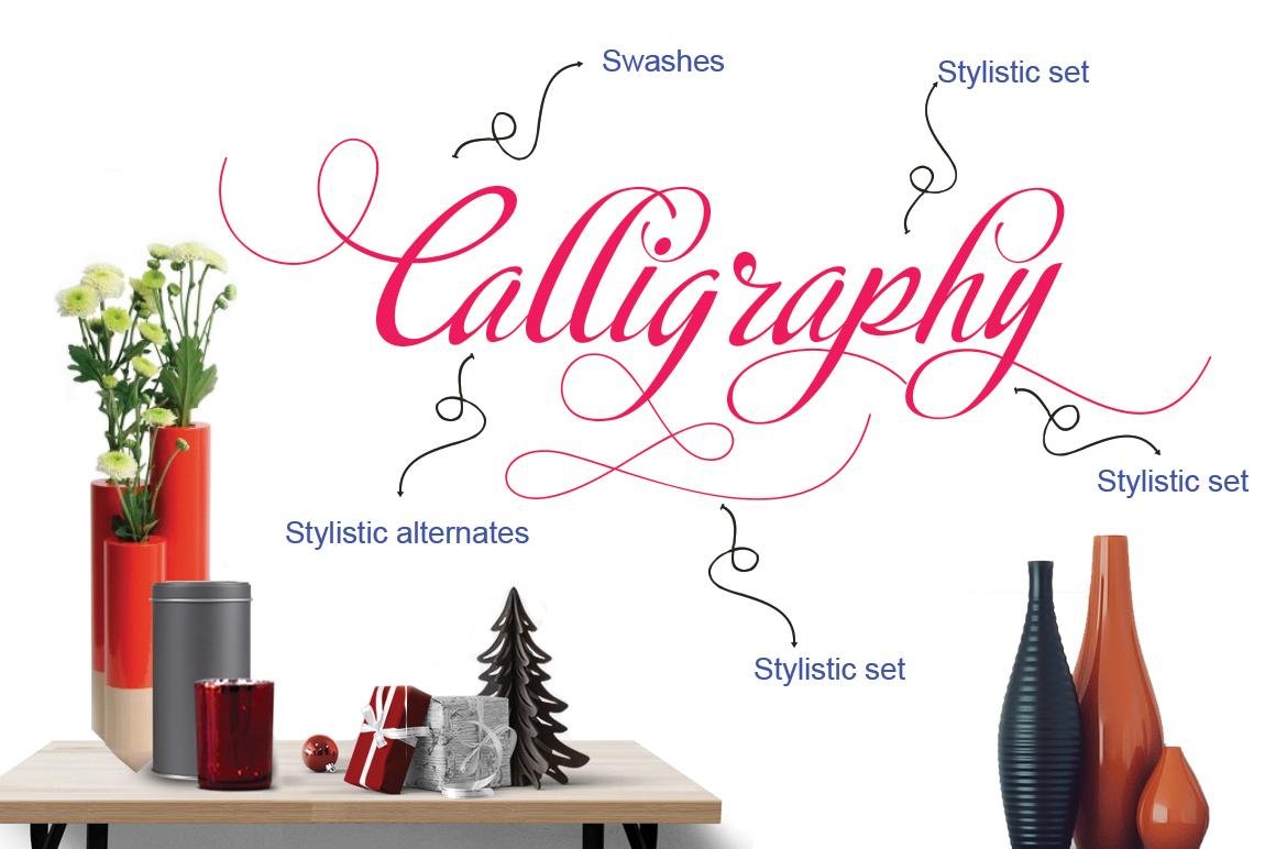 Calligraphy script example image 8
