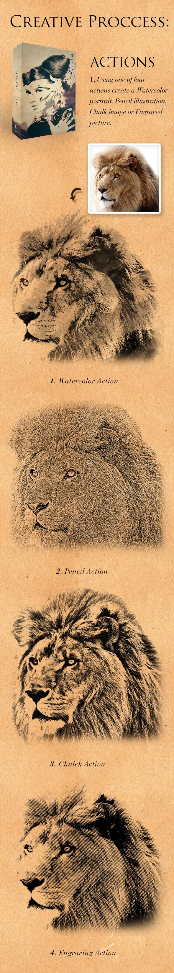 Watercolour Art Bundle example image 7