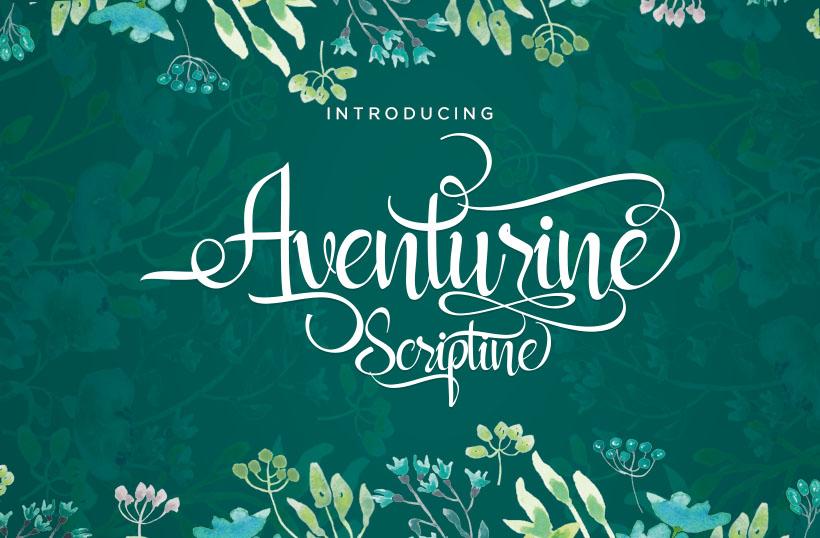 Aventurine Scriptine example image 1