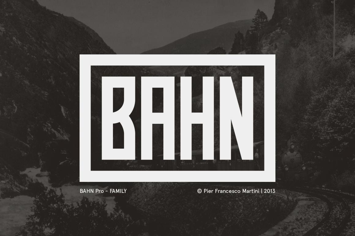 BAHN Pro - Family example image 1