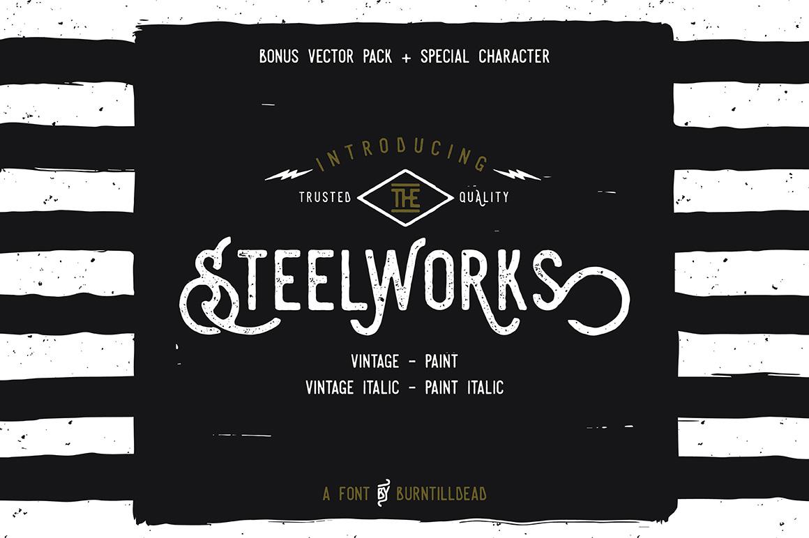 Steelworks + Bonus (20% OFF) example image 1