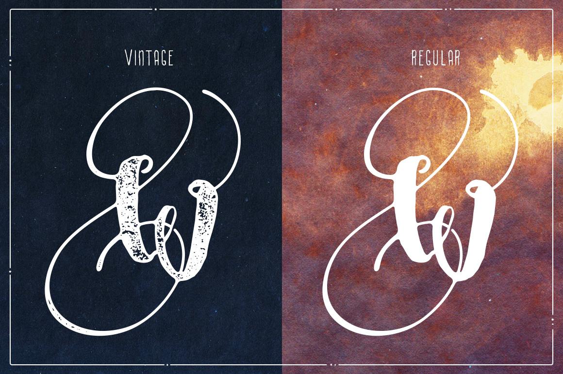 Angeline Font + SWASHES example image 2