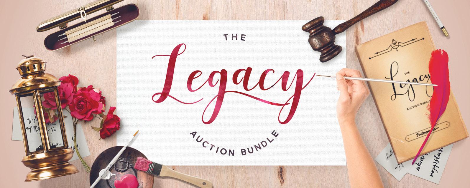 Legacy Auction Bundle Cover