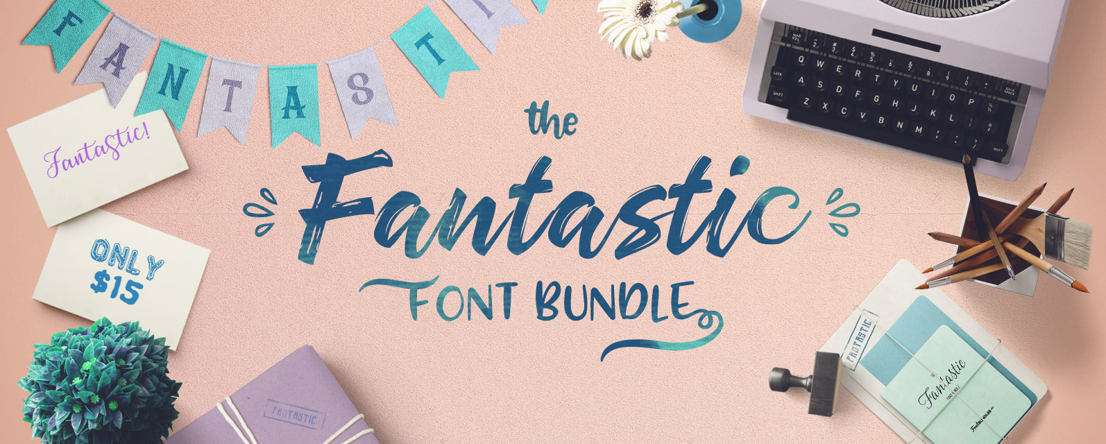 Fantastic Font Bundle Cover