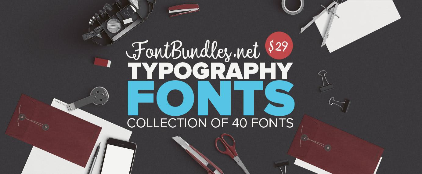 Typography Font Bundle