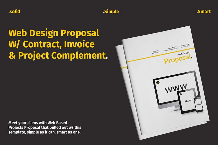 Web Design Proposal W Complement By Bi Design Bundles