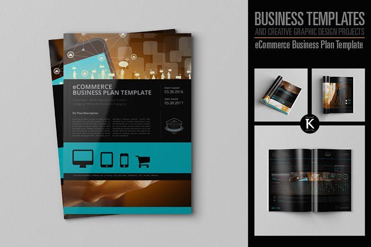 Ecommerce Business Plan Template By Keb Design Bundles