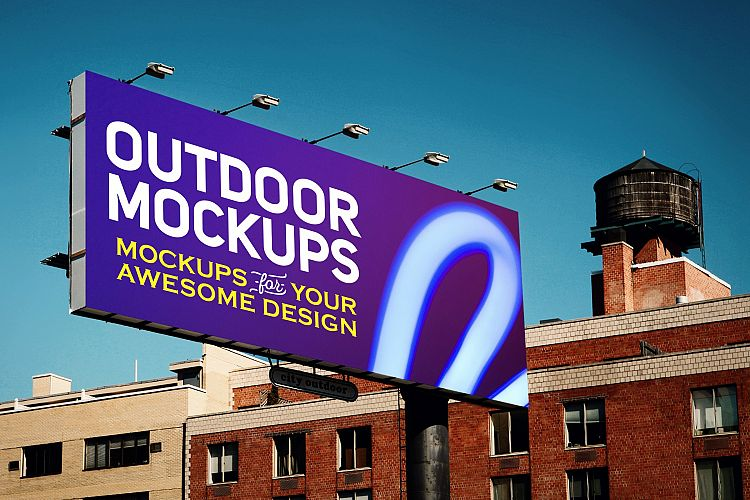 Outdoor Advertising Mockups example image