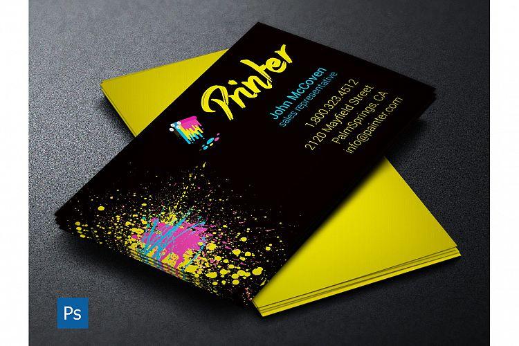 Printer business card psd template by g design bundles viewing product printer business card psd template by godserv designs colourmoves