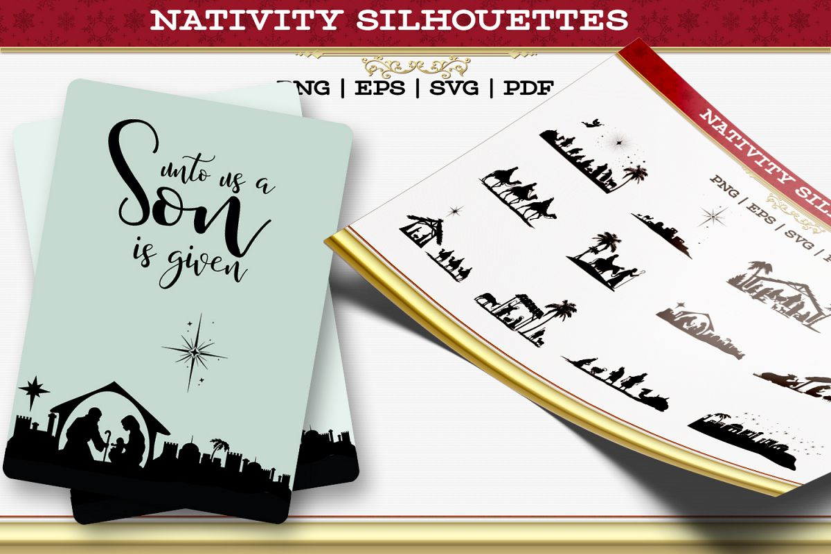 Nativity Silhouettes example image