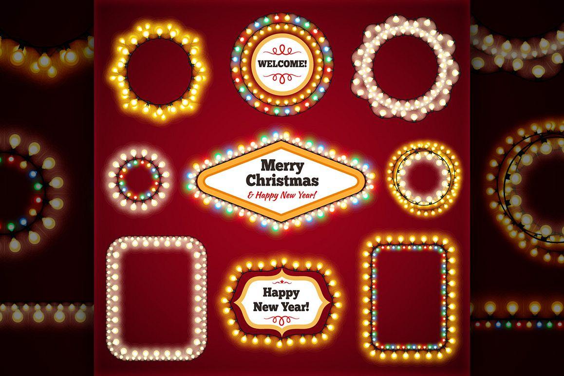 Christmas Lights Decorations Set example image 6