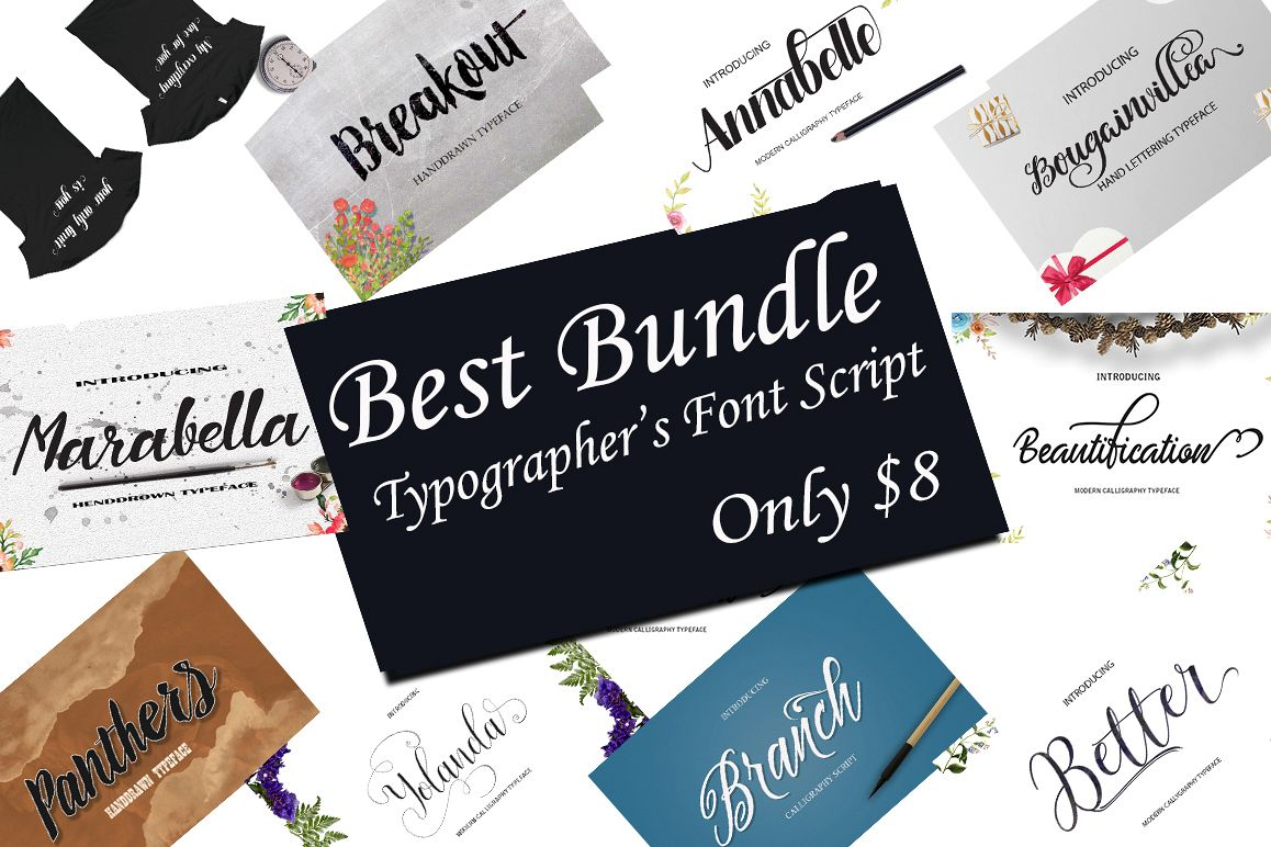 BEST FONTS BUNDLES example image