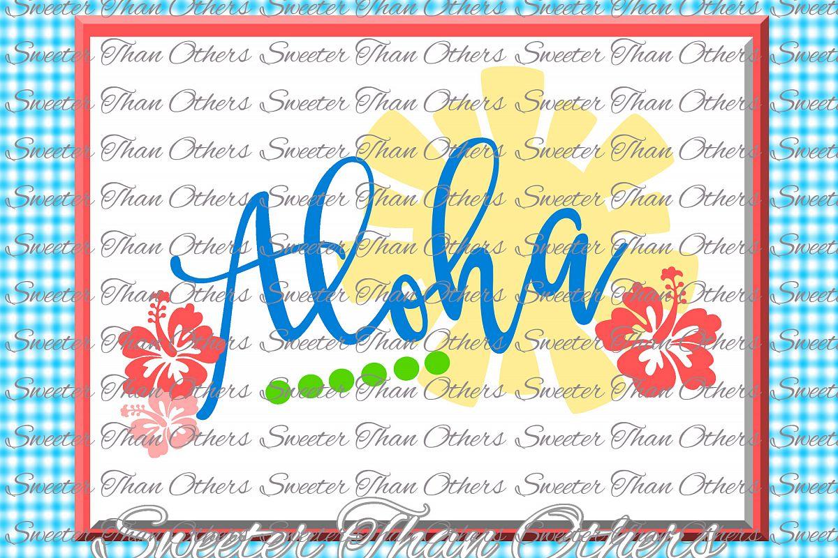Aloha Svg Beach Bound svg, Summer Beach | Design Bundles