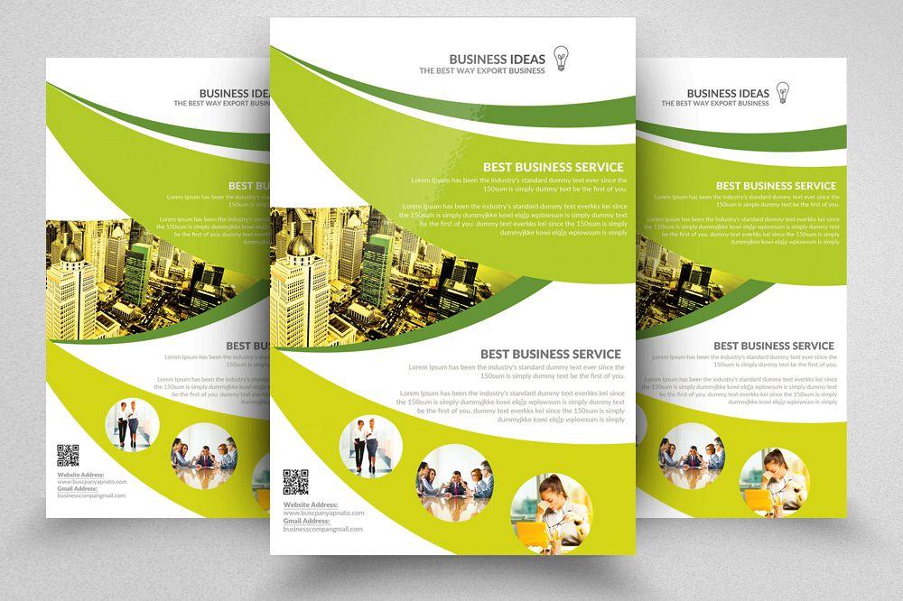 Adult Education Business School Flyer Design Bundles