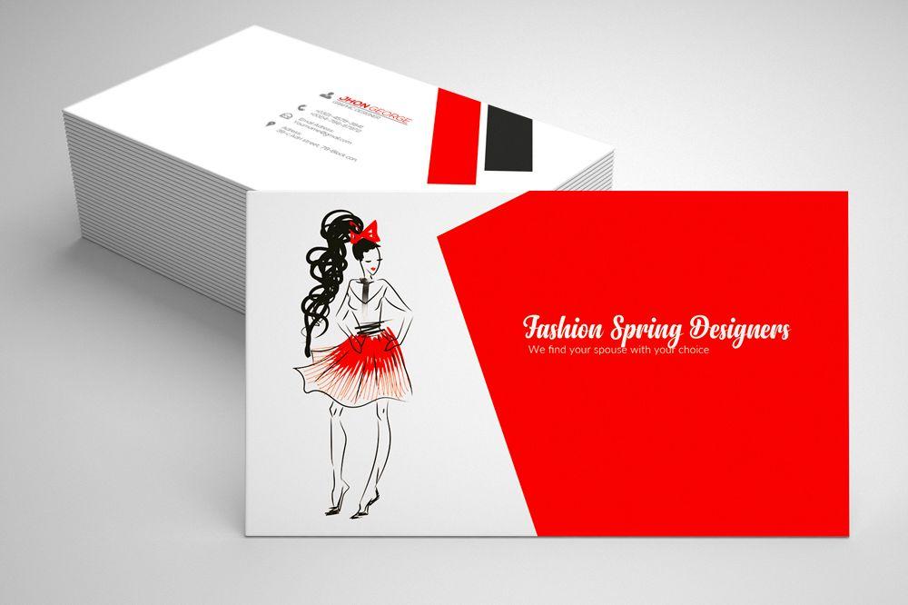 Fashion Designer Business Card by Desi | Design Bundles