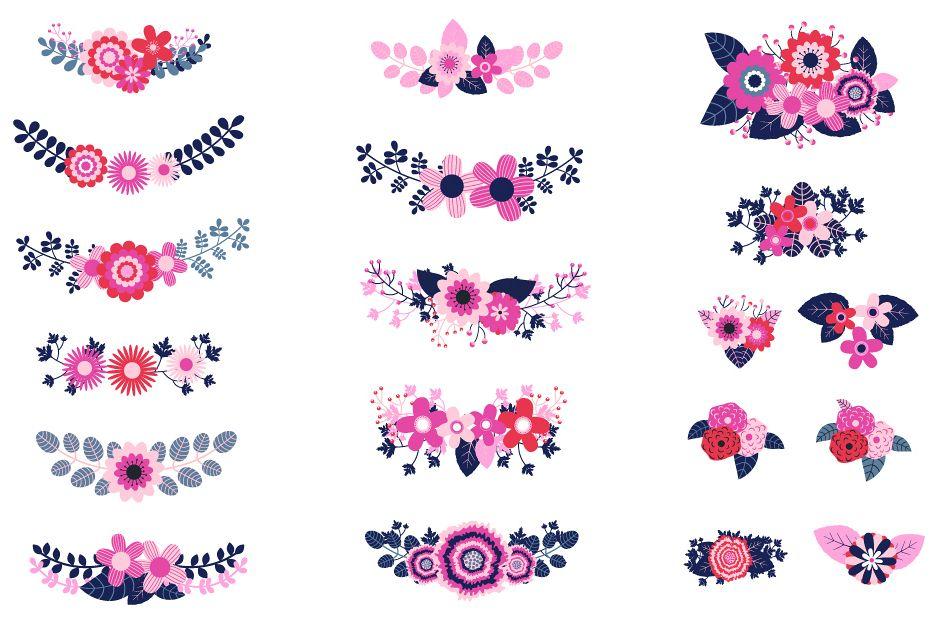 Beautiful Wedding Flowers Clipart