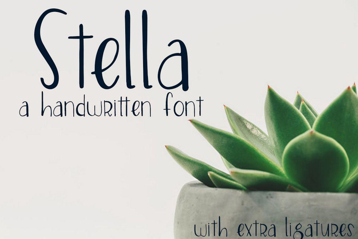 Stella Font example image