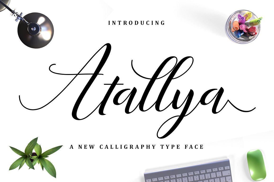 Atallya Script example image