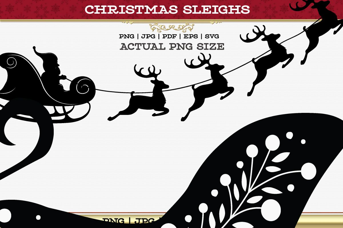 Christmas Sleigh Collection example image 2