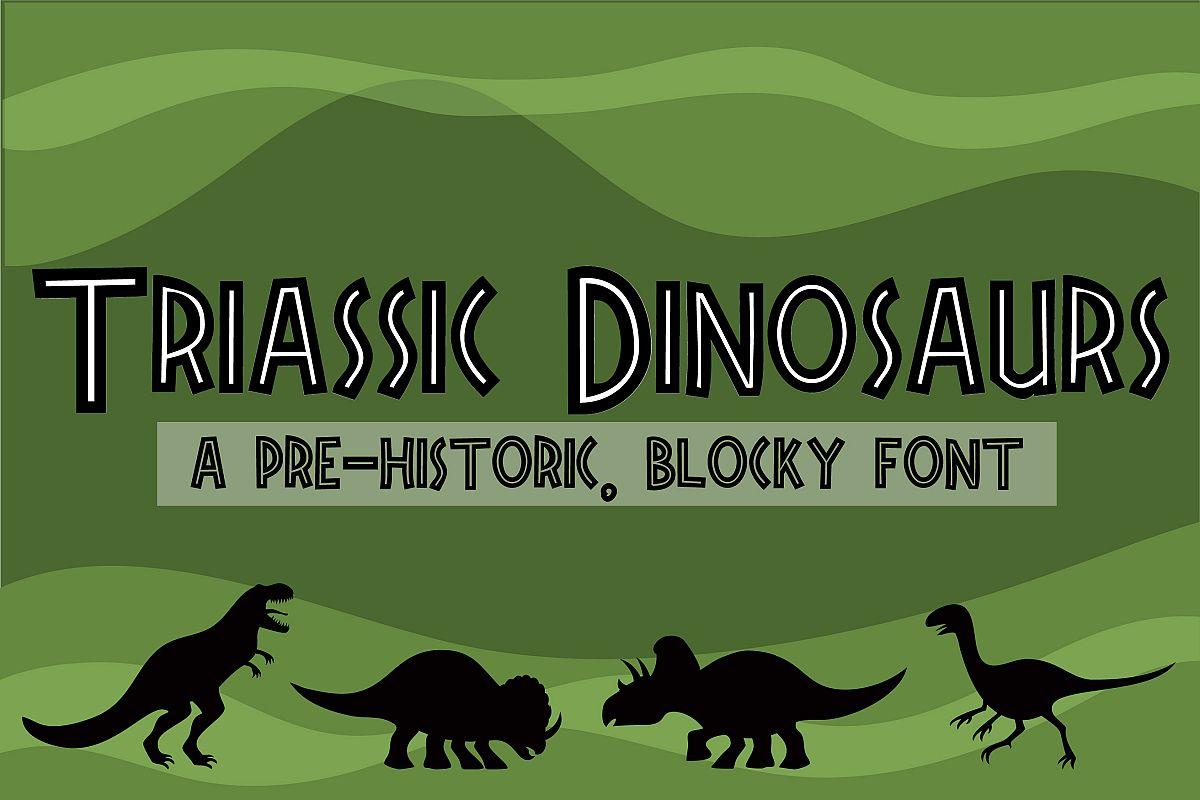 ZP Triassic Dinosaurs example image