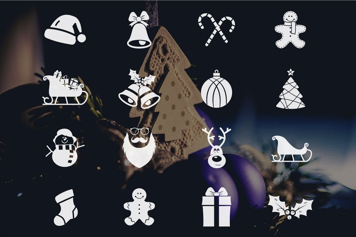 Christmas Icons Collection example image 2