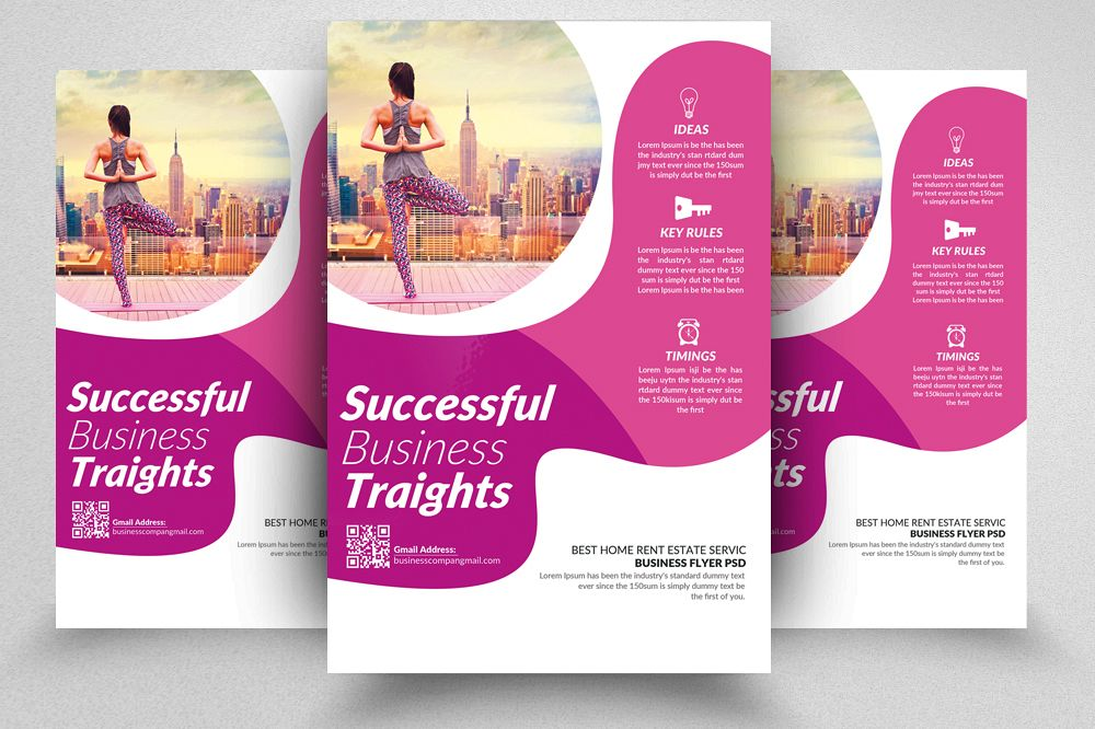 Life insurance company flyers temp by d design bundles life insurance company flyers temp example image altavistaventures Image collections