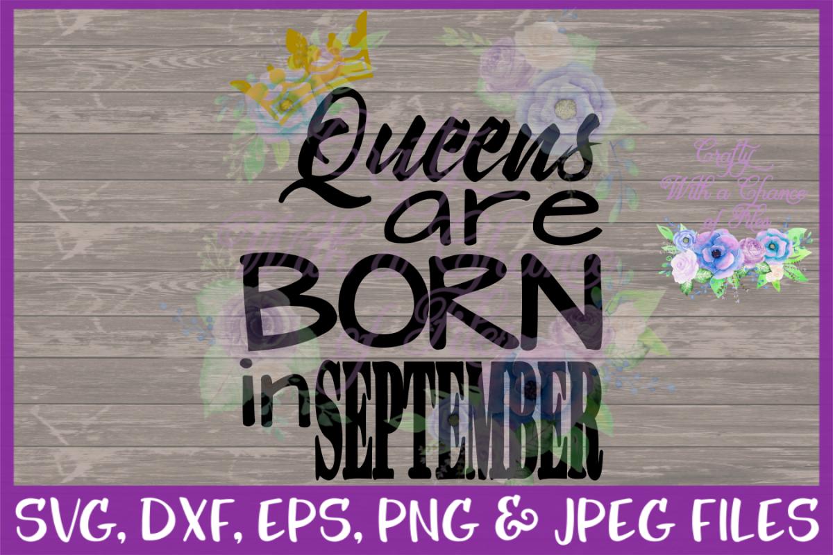 Birthday SVG * Queen SVG * Queens Are B | Design Bundles