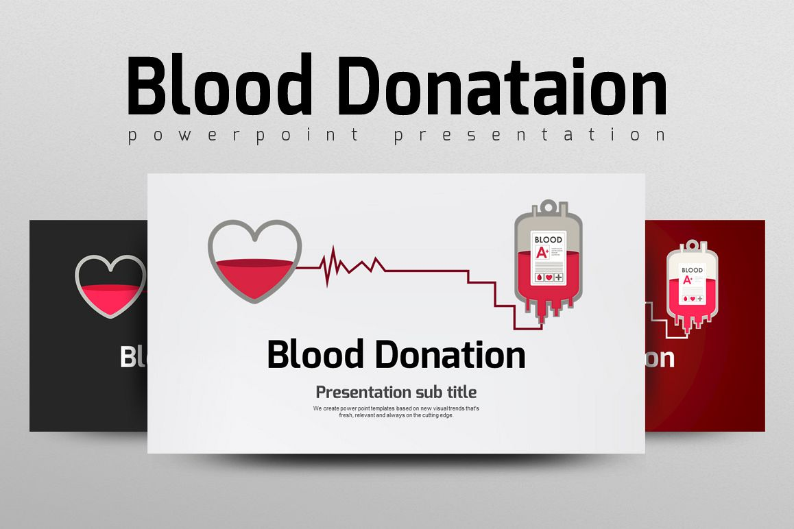 Blood Donation PPT by GoodPello | Design Bundles