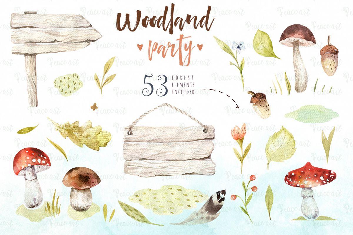 Woodland party I example image 5