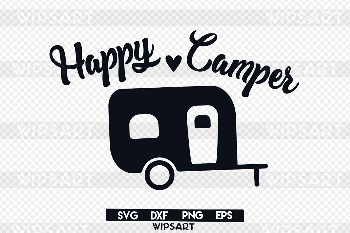 Sale Happy Camper Svg Traveler Advent Design Bundles Rh Designbundles Net Silhouette Clip Art Vintage