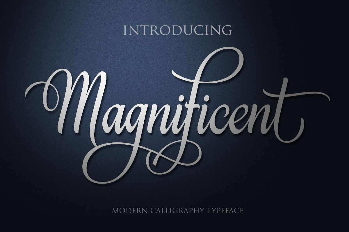 Magnificent example image