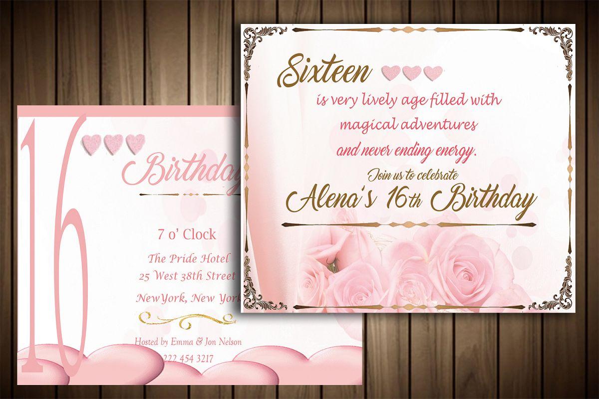 Birthday invitation card by master grap design bundles birthday invitation card example image stopboris Choice Image