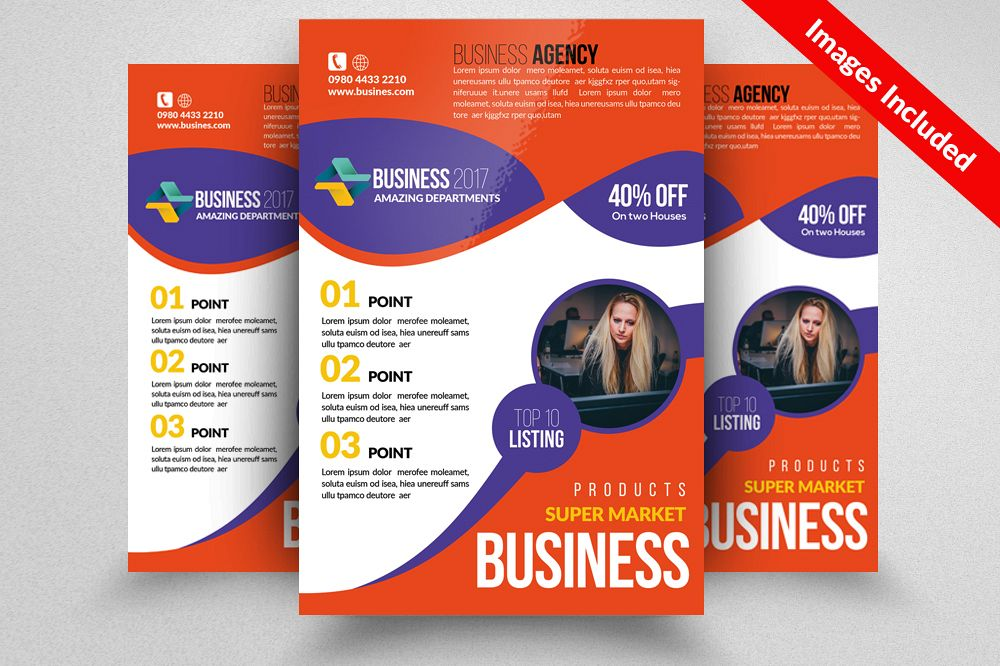 Accounting Audit Flyer Templates By Des Design Bundles