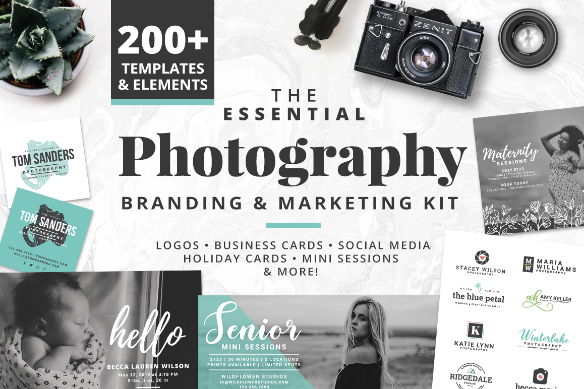 The Essential Photography Branding & Marketing Kit example image
