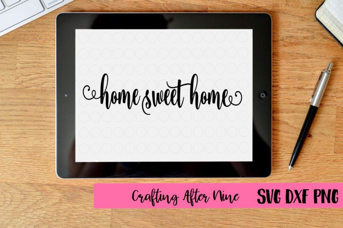 Home Sweet Home, Quote Svg, First Home, | Design Bundles