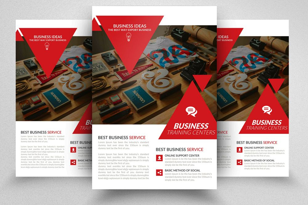 Accounting Tax Services Flyer Templat Design Bundles