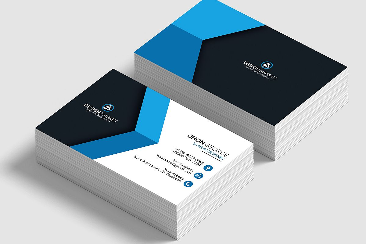 Creative Pro Business Cards by Designhu | Design Bundles