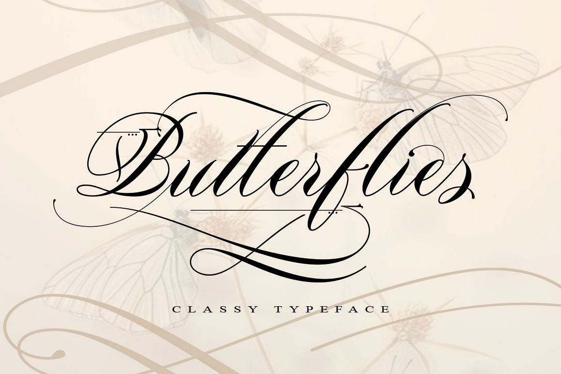 Butterflies example image