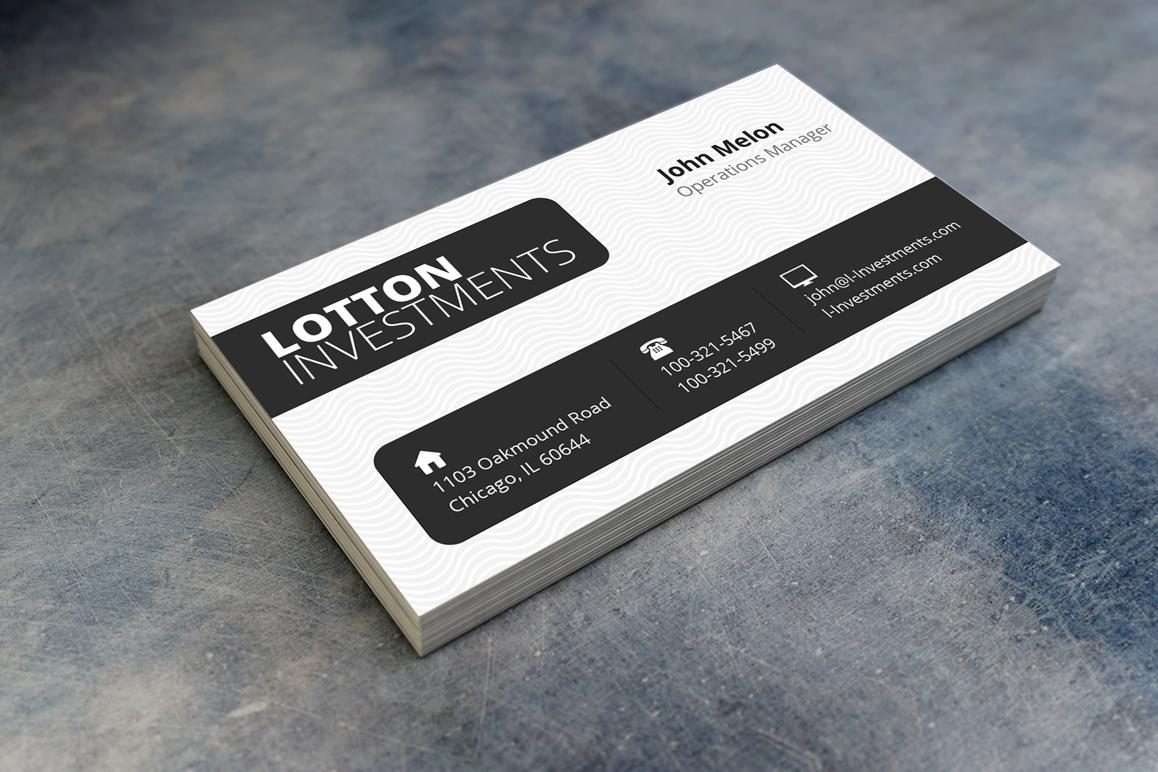 Creative Business Card 3 by Fancy Fonts | Design Bundles