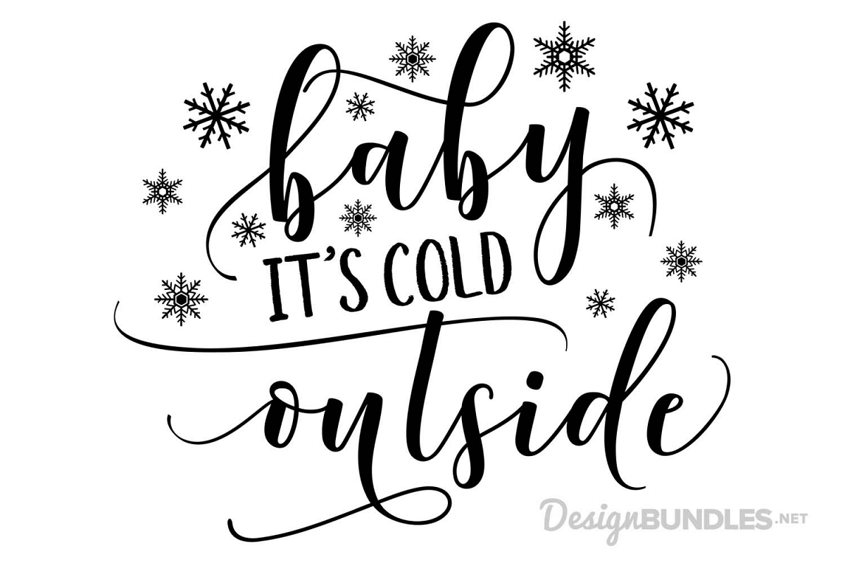 Its Cold Outside Clip Art Br - Clipart Library •
