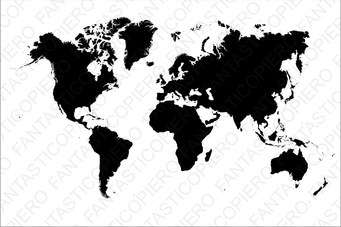 World map svg file for silhouette cameo design bundles world map svg file for silhouette cameo and cricut world map clipart png included gumiabroncs Gallery